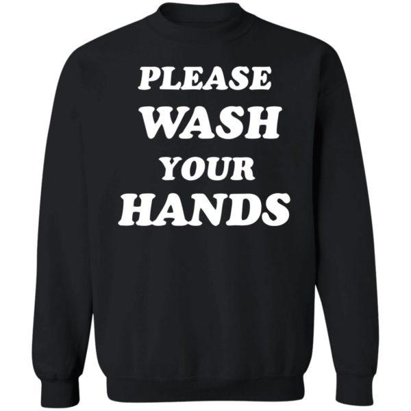 Please Wash Your Hands hoodie