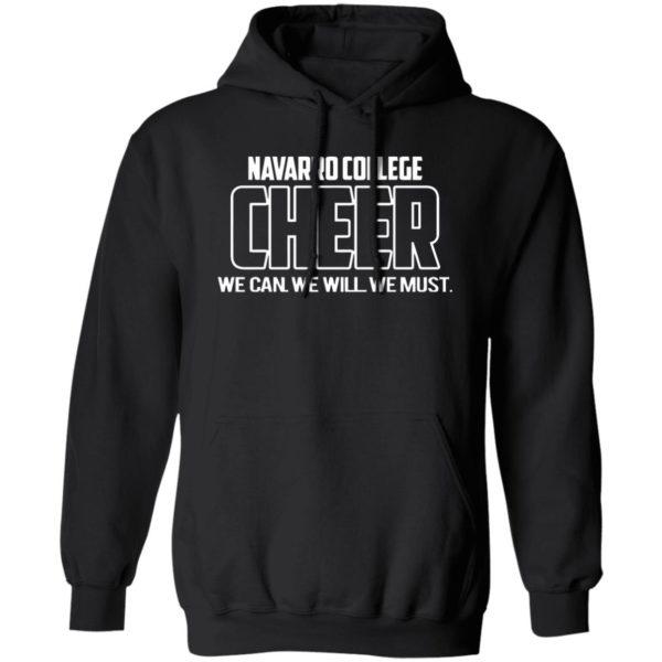 Navarro Cheer shirt black hoodie sweatshirt