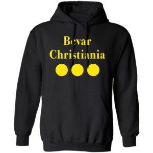 Bevar Christiania hoodie