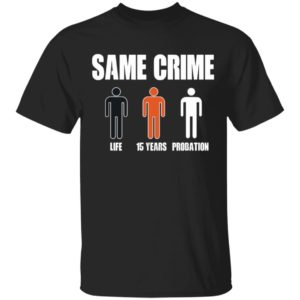 Same Crime Different Time Funny TShirt