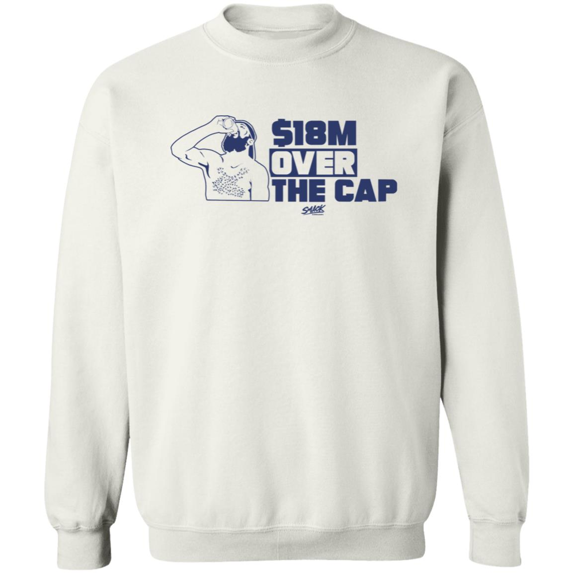18M Over The Cap Shirt Smackapparel Merch 18M Over The Cap Shirt Hoodie Sweatshirt